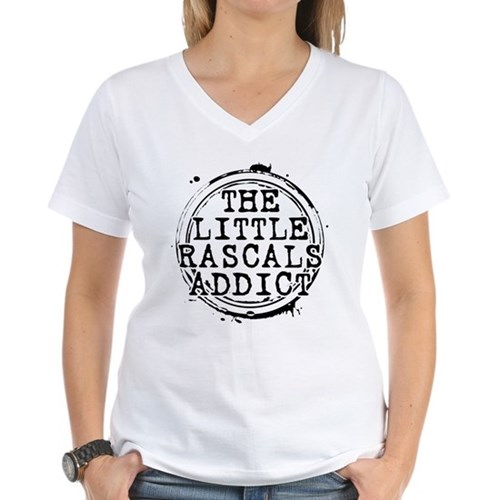 The Little Rascals Addict Women's V-Neck T-Shirt
