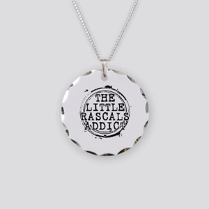 The Little Rascals Addict Necklace Circle Charm