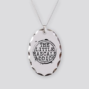 The Little Rascals Addict Necklace Oval Charm