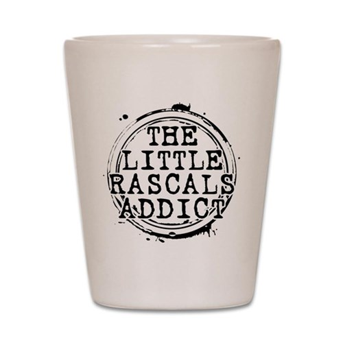 The Little Rascals Addict Shot Glass