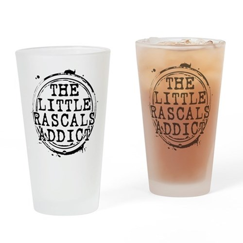 The Little Rascals Addict Drinking Glass