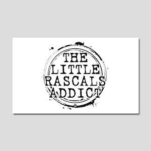 The Little Rascals Addict Car Magnet 20 x 12