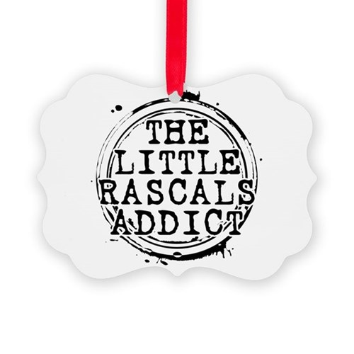The Little Rascals Addict Picture Ornament