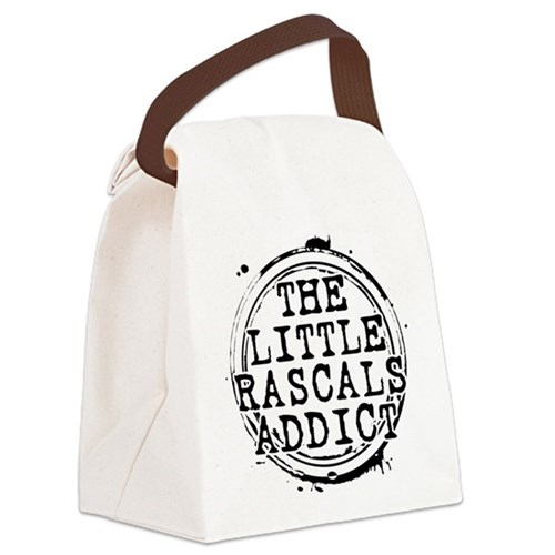 The Little Rascals Addict Canvas Lunch Bag