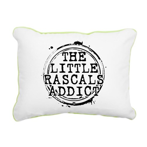 The Little Rascals Addict Rectangular Canvas Pillo
