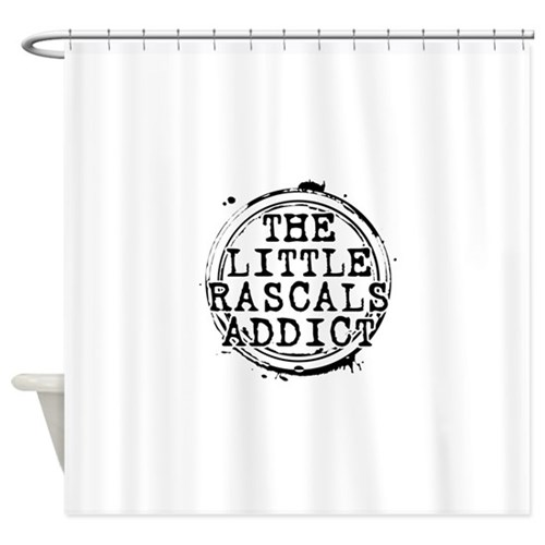 The Little Rascals Addict Shower Curtain
