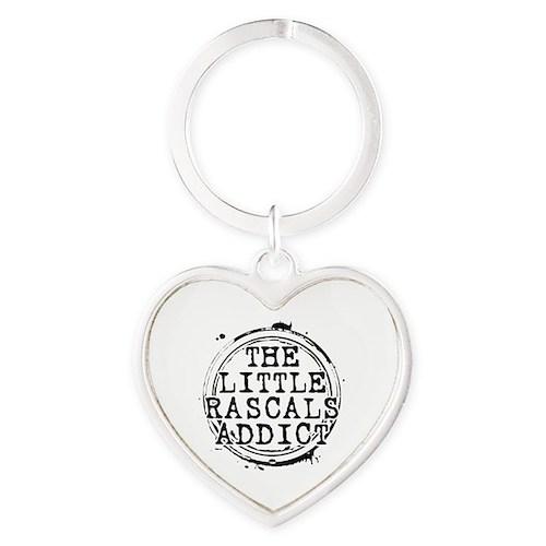 The Little Rascals Addict Heart Keychain