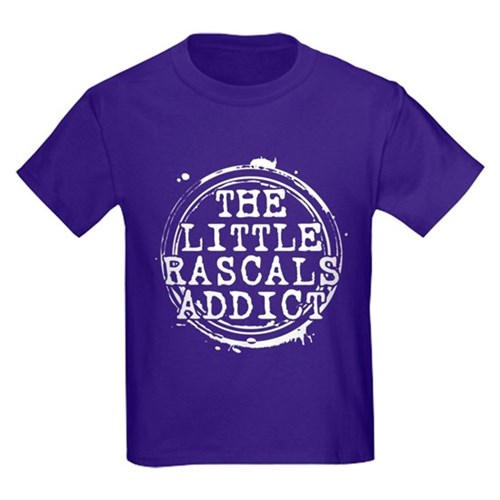 The Little Rascals Addict Kids Dark T-Shirt