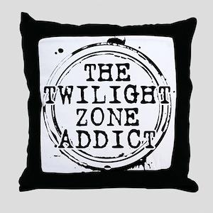 The Twilight Zone Addict Throw Pillow
