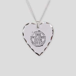 The Twilight Zone Addict Necklace Heart Charm