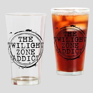 The Twilight Zone Addict Drinking Glass