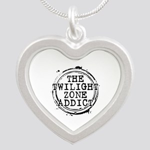 The Twilight Zone Addict Silver Heart Necklace