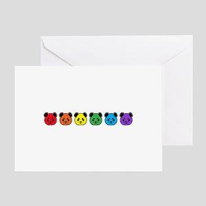 all bear inline 02 Greeting Card