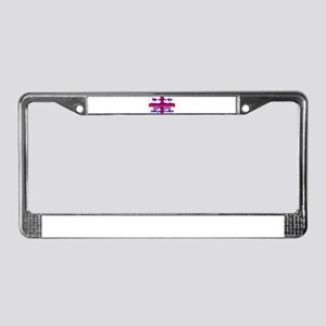 The Smile Of A Rose License Plate Frame