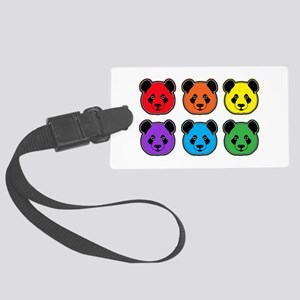 all bear 2 rows Large Luggage Tag