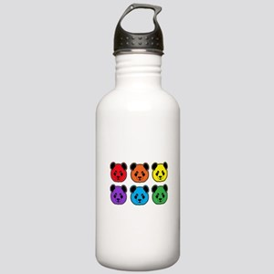 all bear 2 rows Stainless Water Bottle 1.0L