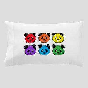 all bear 2 rows Pillow Case