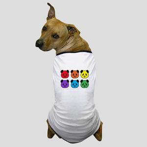 all bear 2 rows Dog T-Shirt