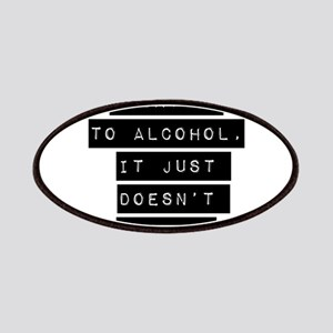 I Say No To Alcohol Patches