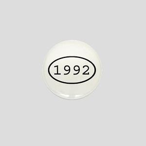 1992 Oval Mini Button