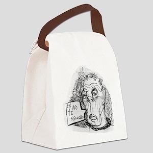 DEAF GRANDPA Canvas Lunch Bag