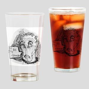DEAF GRANDPA Drinking Glass