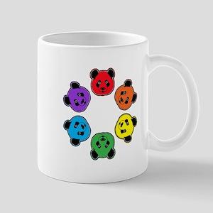 all bear hexagon Mug