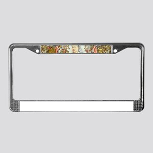 Queen Victoria Jubilee License Plate Frame