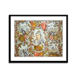 Queen Victoria Jubilee Framed Panel Print