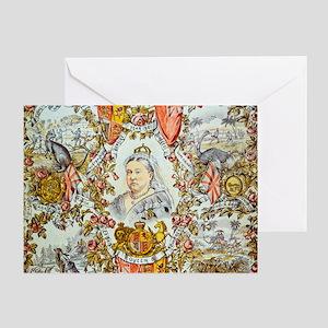 Queen Victoria Jubilee Greeting Card