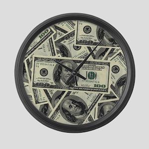 Big Bucks Large Wall Clock