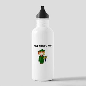 Custom Grammar School Graduate Water Bottle