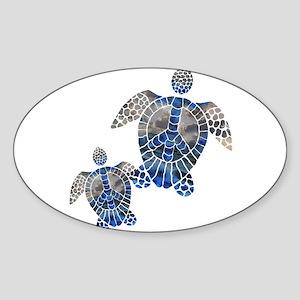 Peace Turtles Sticker