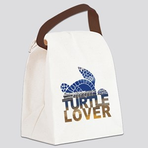 Turtle lover-1 Canvas Lunch Bag