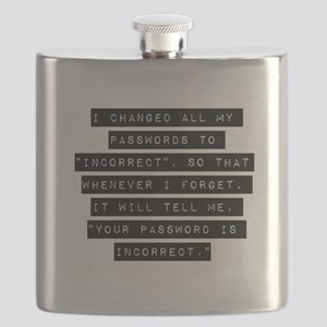 I Changed All My Passwords Flask