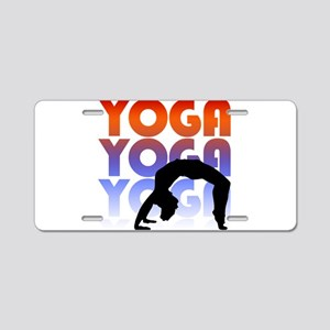 yoga Aluminum License Plate