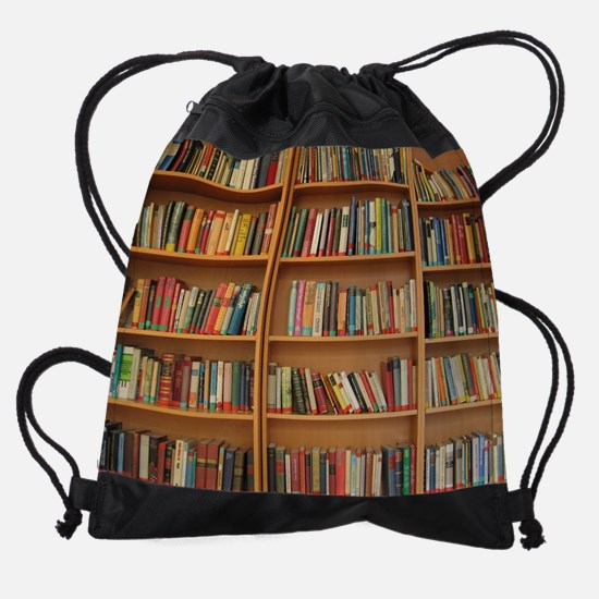 Cute Education Drawstring Bag