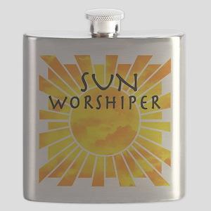 sun worship Flask
