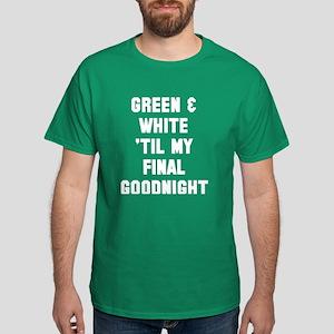 Green White T-Shirt