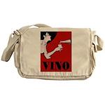 Vino Vintage Lady Messenger Bag