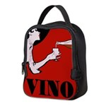 Vino Vintage Lady Neoprene Lunch Bag