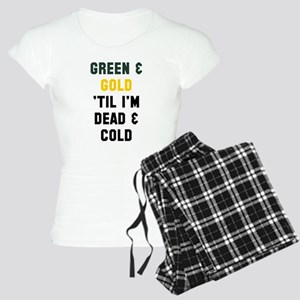 Green Gold Pajamas
