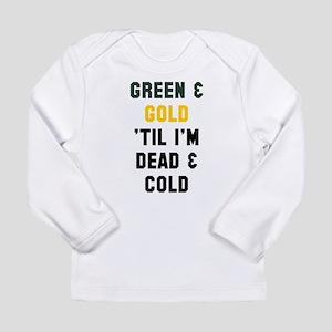 Green Gold Long Sleeve T-Shirt