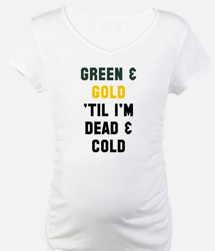 Green Gold Shirt