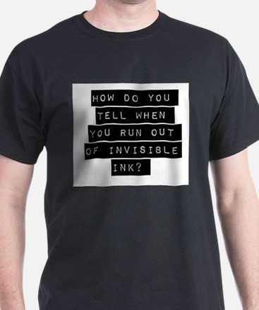 How Do You Tell When You Run Out T-Shirt