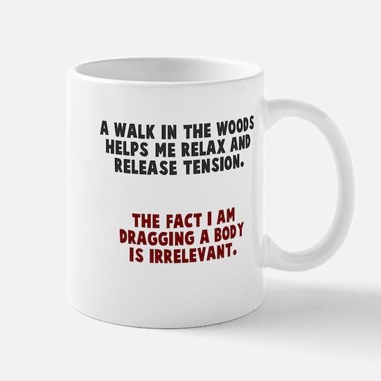 Walk woods Mugs