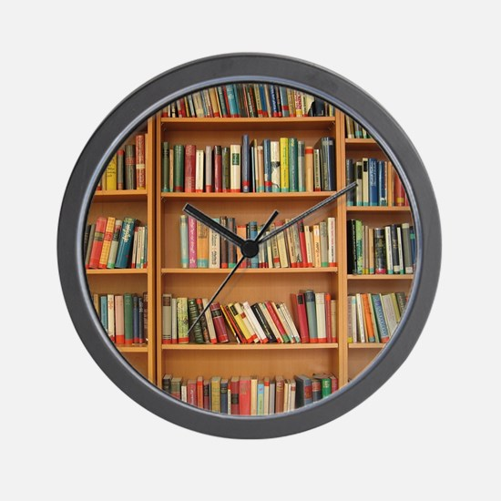 Cute Reading Wall Clock