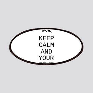 Keep Calm Dance Couple - Customize Patches