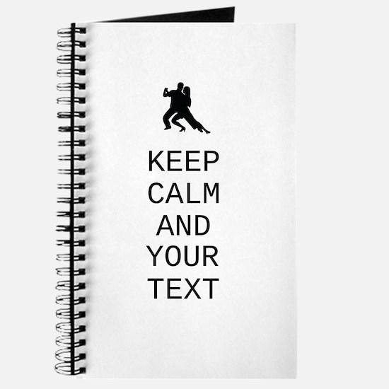 Keep Calm Dance Couple - Customize Journal