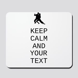 Keep Calm Dance Couple - Customize Mousepad
